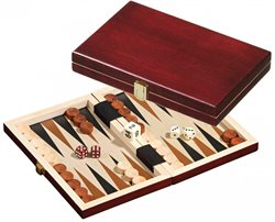 Saloniki, mini, Backgammon