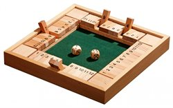 Shut the Box, 12er, 4er Variante