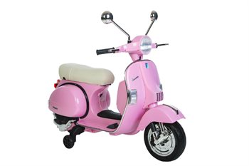 Vespa PX150 12V with Rubber tires and Leatherseat