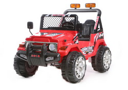 Azeno Buffalo Red 12V, 2 seats, rubber tires