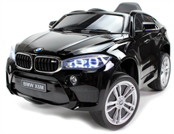 BMW X6M, 12V, rubber tires