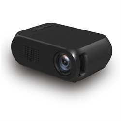 Alcotell  LED Miniprojector med lithium batteri