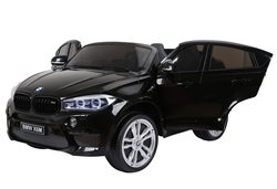 BMW X6M, 12V, 2 seat, rubber tires, leather seat