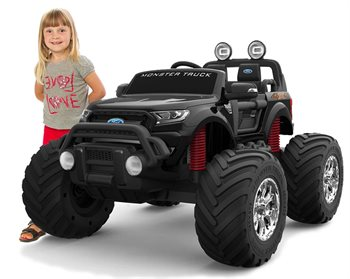 Ford Ranger Monster Truck, 4x12V motors, 2x12V battery