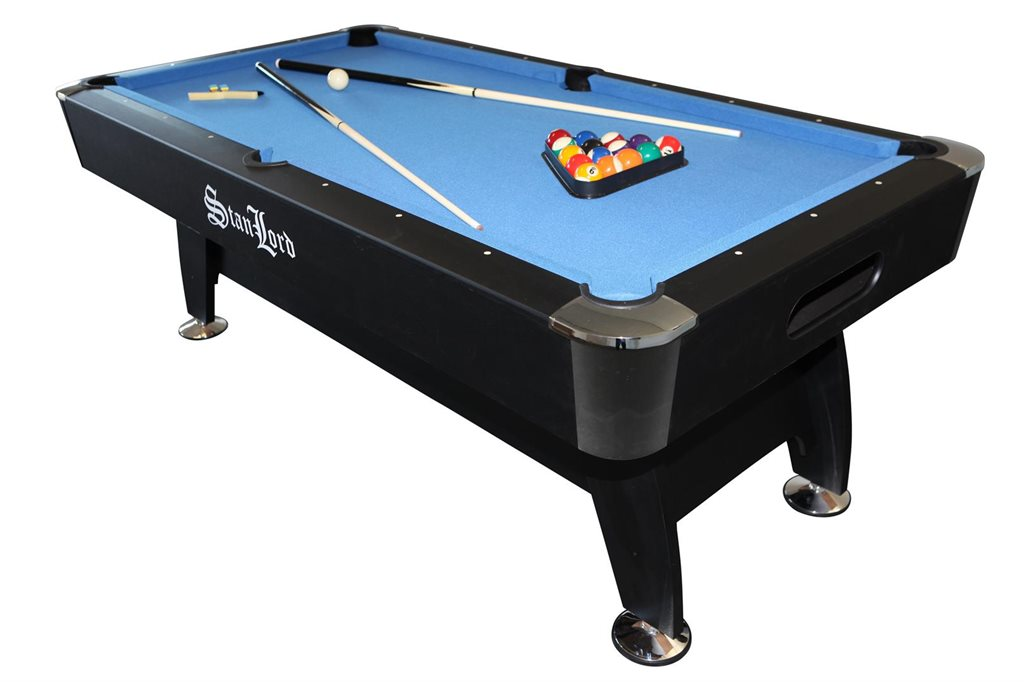 Stanlord Pool Table Milano With Accessories - Milano pool table
