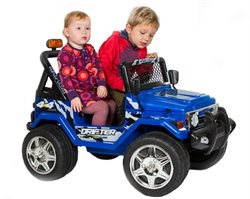Azeno Buffalo Blue 12V, 2 seats, rubber tires