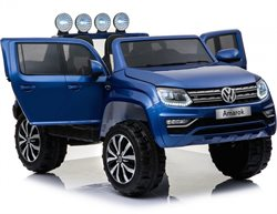 VW Amarok, 4x12V motors, paintet color, leather seat, 12V/10 AH battery